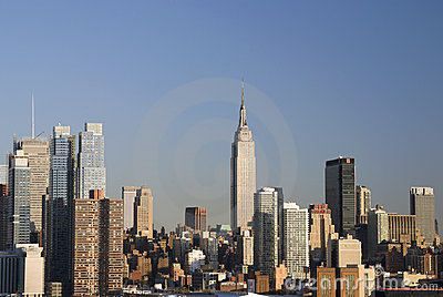 Empire State Skyline Editorial Photo