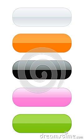 Free Empity Button Set [01] Stock Photos - 6243663