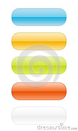 Free Empity Web Button Set [02] Stock Image - 6243841