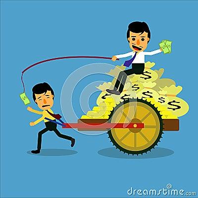 Employee Vector Illustration