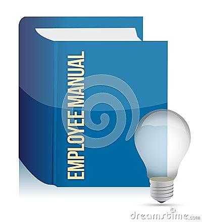 Employee manual book