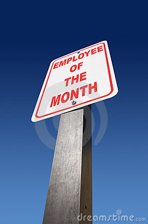 Free Employee Of The Month Royalty Free Stock Images - 453809