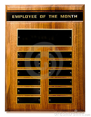 Free Employee Of The Month Award Stock Photos - 4198883