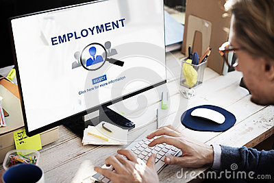Employment Career Job Occupation Hiring Concept Stock Photo
