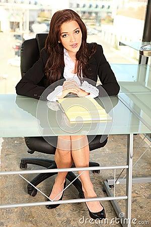 Empreendedor Novo No Escritório