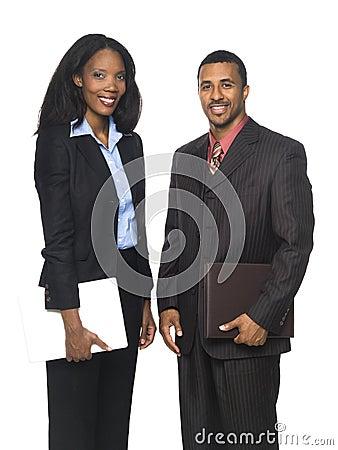 Empresarios - personas alegres