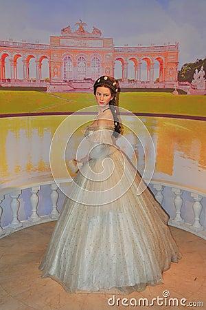 Empress Elisabeth of Austria - Sissi Editorial Stock Photo