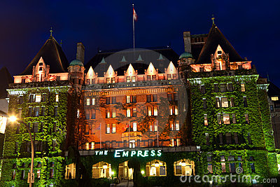 Empress Hotel Editorial Image