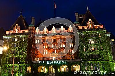 Empress Hotel Editorial Image