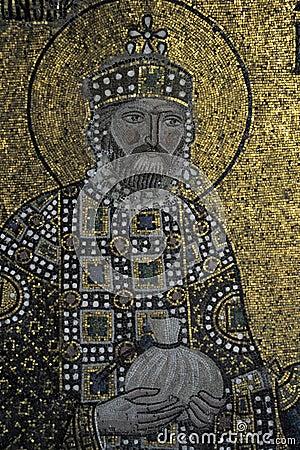 Empress Zoe mosaics, Hagia Sophia, Istanbul