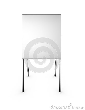 Free Empty 3d Menu Marketing Presentation Stand Isolated Front View Royalty Free Stock Photos - 36193308
