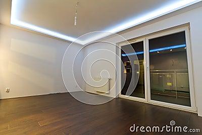 Empty apartment interior