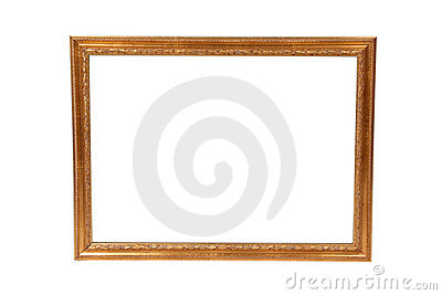 An empty artwork frame