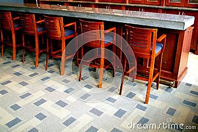 Empty bar