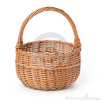 Free Empty Basket Royalty Free Stock Photography - 34073357
