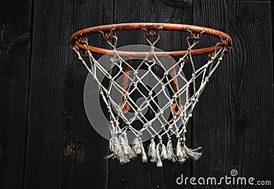 Empty Basketball Net