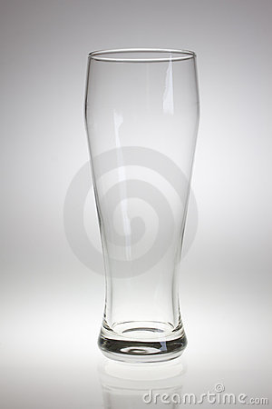 Free Empty Beer Glass Royalty Free Stock Photo - 11856265