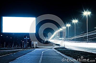 Empty bilboard