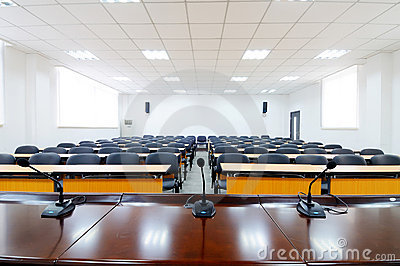 Empty Boardroom Royalty Free Stock Images - Image: 16509249
