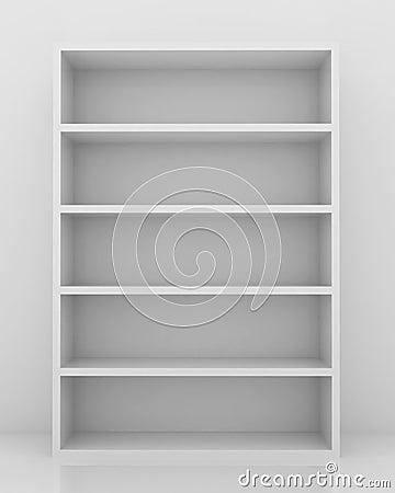 Empty Bookshelf Royalty Free Stock Photo Image 19542805
