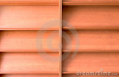Empty Bookshelf Royalty Free Stock Photography - Image: 21880007