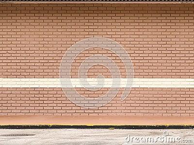 Empty Brick Wall Royalty Free Empty Brick Wall