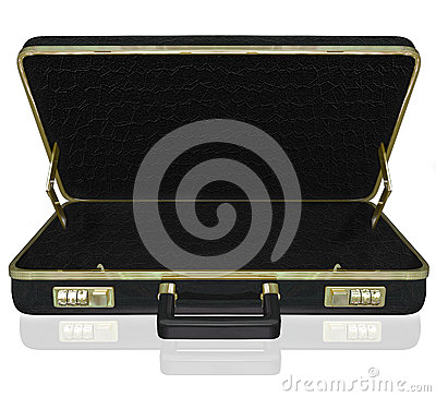 Empty Briefcase Copyspace Your Contents Inside