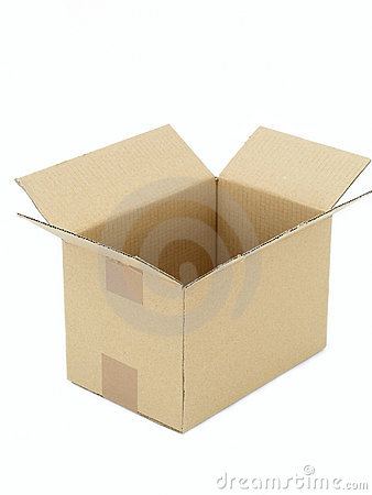 Free Empty Cardboard Box Stock Photography - 226332