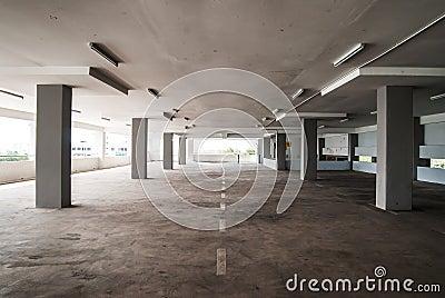 Empty Carpark Area