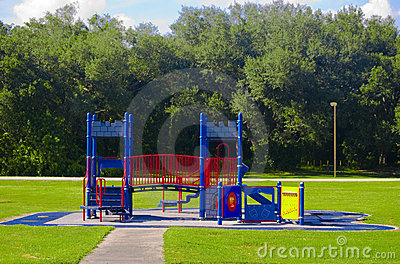 Empty Castle Playground