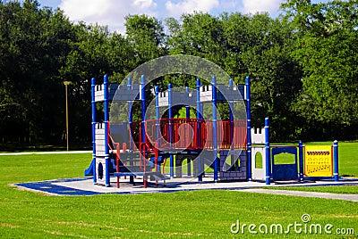 Empty Castle Playground