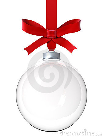 Free Empty Christmas Ornament Royalty Free Stock Photos - 17184298