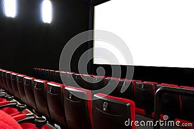 Empty cimema seats