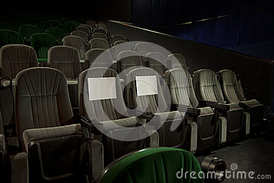 Recerved seats in cinema