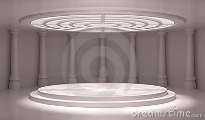 Empty Classic Interior