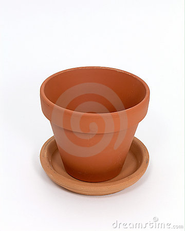 Empty Clay Pot