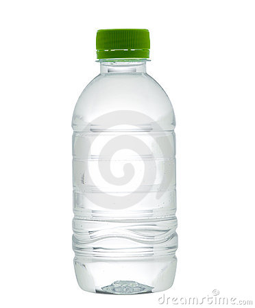 Empty And Clear Drinking Water Bottle Royalty Free Stock ...