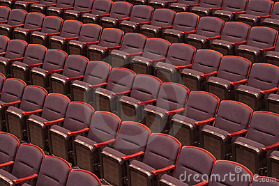Empty Concert Hall Seats