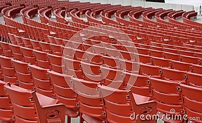 Empty Concert Seats