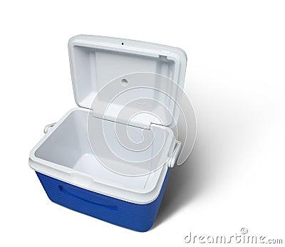 Empty cooler