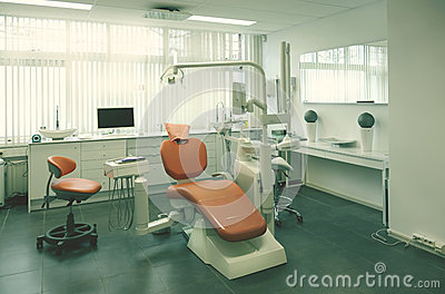 Empty dental room