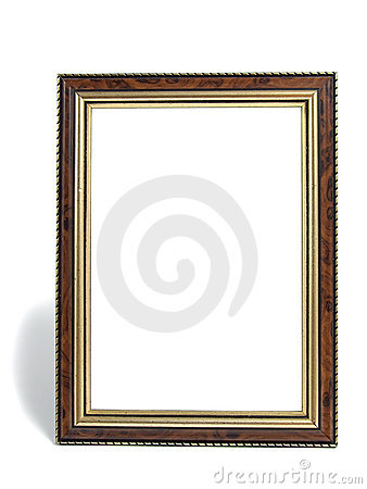 Empty desktop photoframe