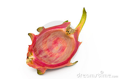 Empty Dragonfruit shell