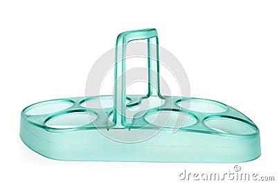 Empty egg holder