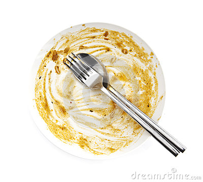 Empty food bowl