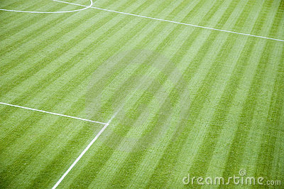 Empty Football Pitch Royalty Free Stock Photos - Image: 3551588