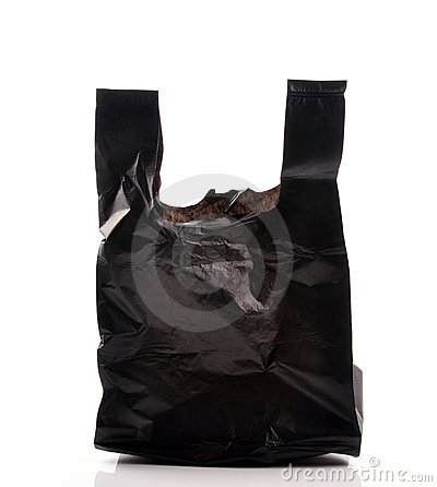 Free Empty Garbage Bag Royalty Free Stock Photography - 10662537
