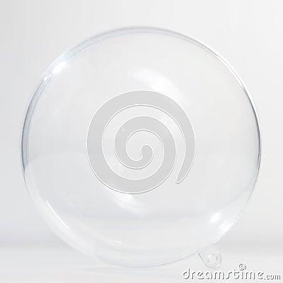 Free Empty Glass Ball Stock Image - 19491641