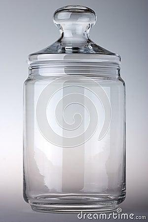 Free Empty Glass Jar Stock Photo - 1557260