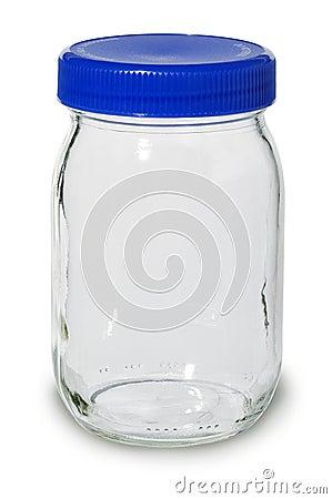Free Empty Glass Jar Stock Image - 3389991